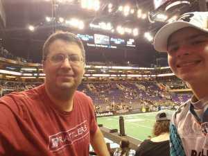 Scott attended Arizona Rattlers vs. Sioux Falls Storm - IFL on Mar 31st 2019 via VetTix