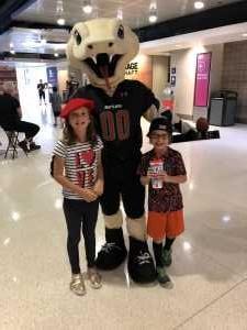 Justin attended Arizona Rattlers vs. Sioux Falls Storm - IFL on Mar 31st 2019 via VetTix