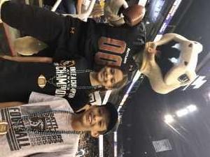Alex attended Arizona Rattlers vs. Sioux Falls Storm - IFL on Mar 31st 2019 via VetTix