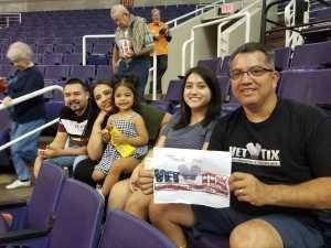 chris attended Arizona Rattlers vs. Sioux Falls Storm - IFL on Mar 31st 2019 via VetTix