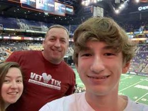 anthony attended Arizona Rattlers vs. Sioux Falls Storm - IFL on Mar 31st 2019 via VetTix