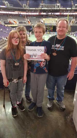 Bruce attended Arizona Rattlers vs. Sioux Falls Storm - IFL on Mar 31st 2019 via VetTix