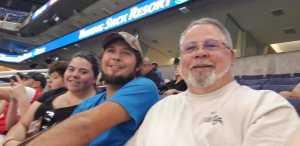 David  attended Arizona Rattlers vs. Sioux Falls Storm - IFL on Mar 31st 2019 via VetTix