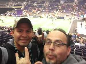 Jesus attended Arizona Rattlers vs. Sioux Falls Storm - IFL on Mar 31st 2019 via VetTix