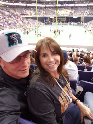 William attended Arizona Rattlers vs. Sioux Falls Storm - IFL on Mar 31st 2019 via VetTix