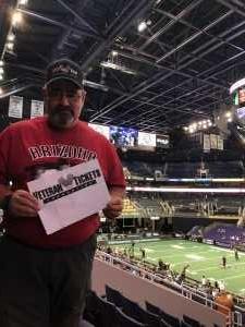 Michael attended Arizona Rattlers vs. Sioux Falls Storm - IFL on Mar 31st 2019 via VetTix