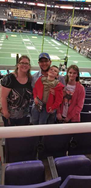 Jessica attended Arizona Rattlers vs. Tucson Sugar Skulls - IFL on Mar 16th 2019 via VetTix
