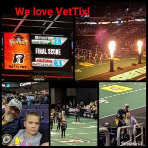 William attended Arizona Rattlers vs. Tucson Sugar Skulls - IFL on Mar 16th 2019 via VetTix