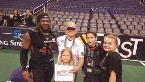 James attended Arizona Rattlers vs. Tucson Sugar Skulls - IFL on Mar 16th 2019 via VetTix