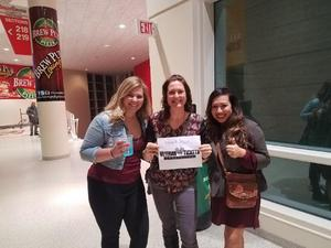 Maranda attended Kelly Clarkson: the Meaning of Life Tour With Special Guest Kelsea Ballerini on Feb 15th 2019 via VetTix