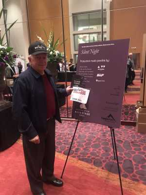 Larry attended Arizona Opera - Silent Night - Saturday Performance on Mar 2nd 2019 via VetTix