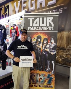 Eric attended Kiss - End of the Road Tour on Feb 15th 2019 via VetTix