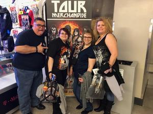 Steven attended Kiss - End of the Road Tour on Feb 15th 2019 via VetTix