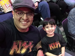 Manuel attended Kiss - End of the Road Tour on Feb 15th 2019 via VetTix