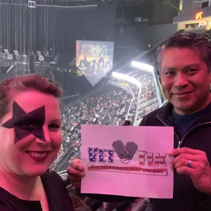 Anthony attended Kiss - End of the Road Tour on Feb 15th 2019 via VetTix