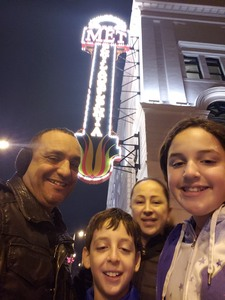 Randy attended Disney's Dcappella - Other on Feb 17th 2019 via VetTix