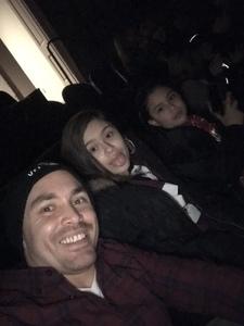 Cpl Melendez attended Disney's Dcappella - Other on Feb 17th 2019 via VetTix