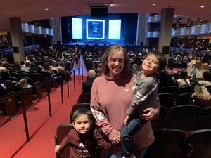 Kristyn attended Disney's Dcappella - Other on Feb 17th 2019 via VetTix