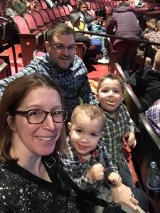 Travis attended Disney's Dcappella - Other on Feb 17th 2019 via VetTix