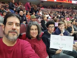 Carlos attended Philadelphia Wings vs. New England Black Wolves - National Lacrosse League on Feb 16th 2019 via VetTix
