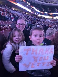 Samantha attended Philadelphia Wings vs. New England Black Wolves - National Lacrosse League on Feb 16th 2019 via VetTix