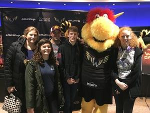 Wesly attended Philadelphia Wings vs. New England Black Wolves - National Lacrosse League on Feb 16th 2019 via VetTix