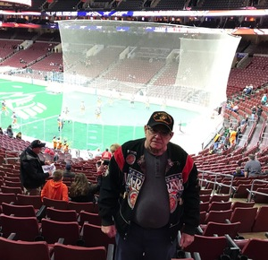 Robert attended Philadelphia Wings vs. New England Black Wolves - National Lacrosse League on Feb 16th 2019 via VetTix