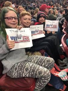 Eric attended Philadelphia Wings vs. New England Black Wolves - National Lacrosse League on Feb 16th 2019 via VetTix