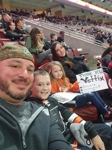 Joseph attended Philadelphia Wings vs. New England Black Wolves - National Lacrosse League on Feb 16th 2019 via VetTix
