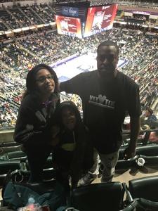 Jermaine attended Indiana Pacers vs. Milwaukee Bucks - NBA on Feb 13th 2019 via VetTix