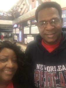 Shonda attended New Orleans Pelicans vs. Oklahoma City Thunder - NBA on Feb 14th 2019 via VetTix