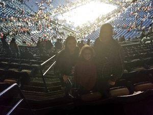 Amber attended New Orleans Pelicans vs. Oklahoma City Thunder - NBA on Feb 14th 2019 via VetTix