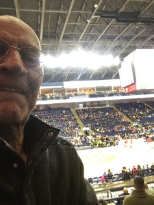 Arthur attended Harlem Globetrotters on Feb 15th 2019 via VetTix