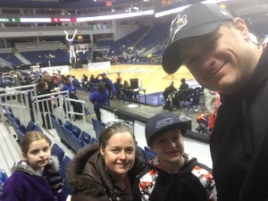 Eric attended Harlem Globetrotters on Feb 15th 2019 via VetTix