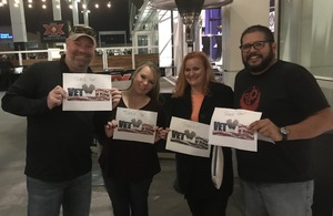 Andrew attended UFC Fight Night on Feb 17th 2019 via VetTix