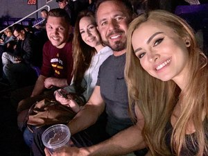 Jacob attended UFC Fight Night on Feb 17th 2019 via VetTix