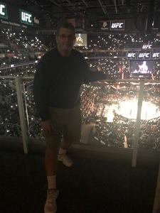 Randy attended UFC Fight Night on Feb 17th 2019 via VetTix
