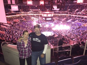 Navy Dave attended UFC Fight Night on Feb 17th 2019 via VetTix