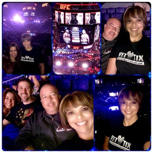 Tisa attended UFC Fight Night on Feb 17th 2019 via VetTix