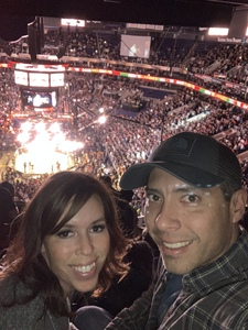 William attended UFC Fight Night on Feb 17th 2019 via VetTix
