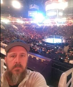 Rich attended UFC Fight Night on Feb 17th 2019 via VetTix