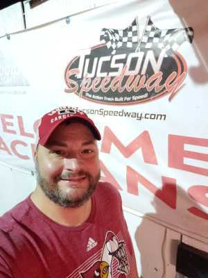 Michael attended Tucson Speedway - Grand Opening 2019 - Time Tba - * See Notes on Mar 9th 2019 via VetTix