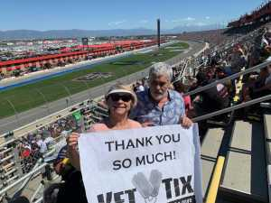 michael attended 2019 Auto Club 400 - KB100 - Kurt Busch Fan Appreciation Tickets on Mar 17th 2019 via VetTix