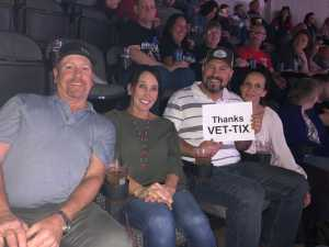 Phill attended Eric Church: Double Down Tour - Country on Apr 12th 2019 via VetTix