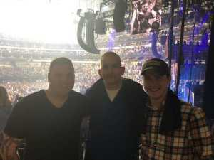 Larry attended Eric Church: Double Down Tour - Country on Apr 12th 2019 via VetTix