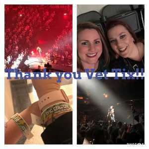 Nicole attended Eric Church: Double Down Tour - Country on Apr 12th 2019 via VetTix