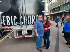 Shawn attended Eric Church: Double Down Tour - Country on Apr 12th 2019 via VetTix