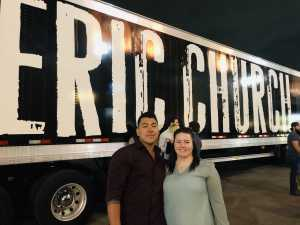 Cameron attended Eric Church: Double Down Tour - Country on Apr 12th 2019 via VetTix