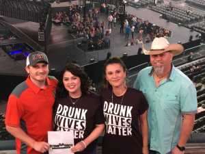Aaron attended Eric Church: Double Down Tour - Country on Apr 12th 2019 via VetTix