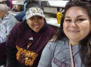 Christina attended Honor Row - Arizona State University Sun Devils vs. Lehigh ASU Invitational Day 3- NCAA Women's Softball on Mar 9th 2019 via VetTix